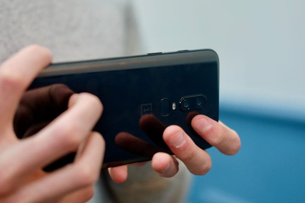 OnePlus 6 cámara