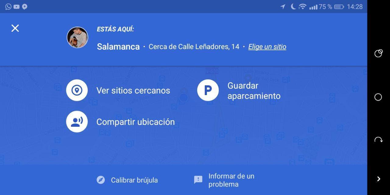 google maps para android