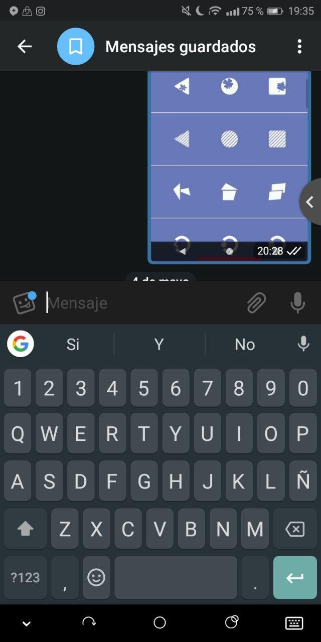 gboard de android
