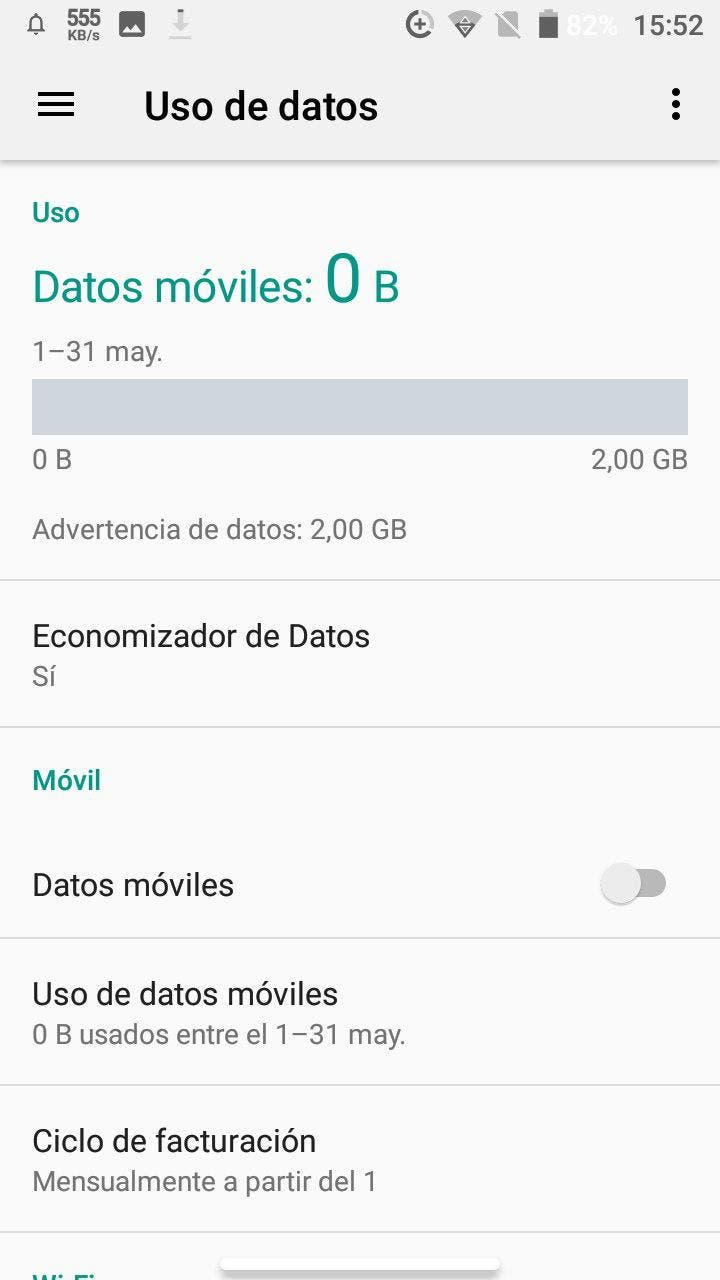 redes moviles en android