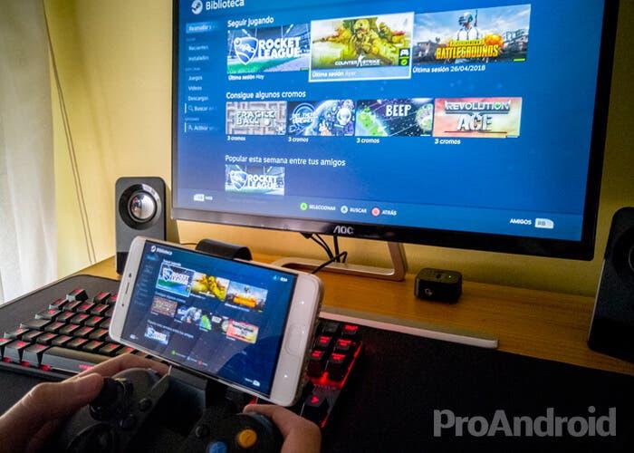 Steam Link: así puedes jugar a tus juegos de PC en tu móvil