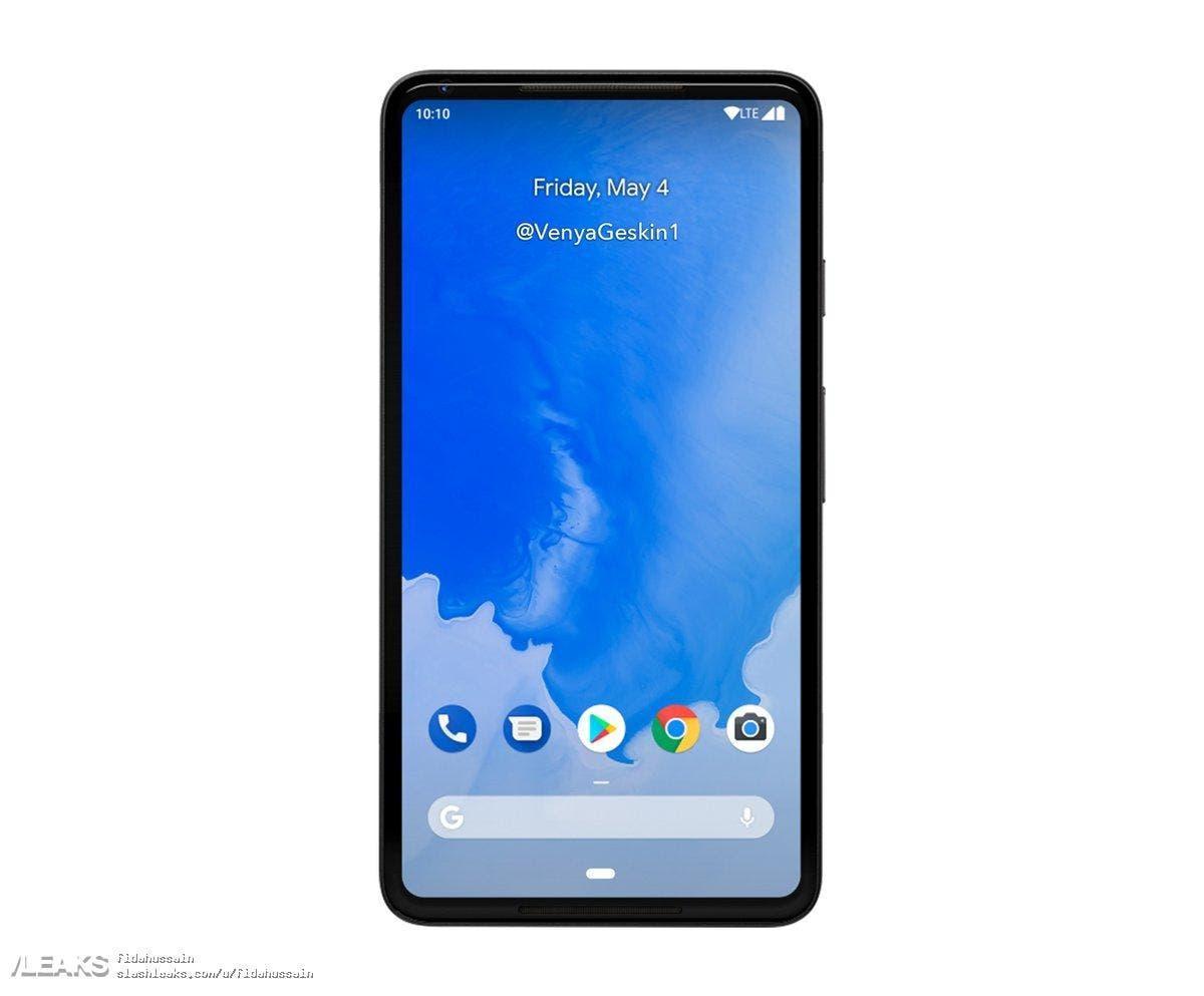 diseño del pixel 3 de google