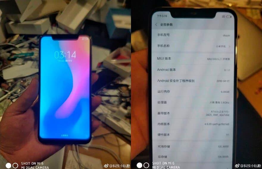 Pantalla del Xiaomi Mi 7