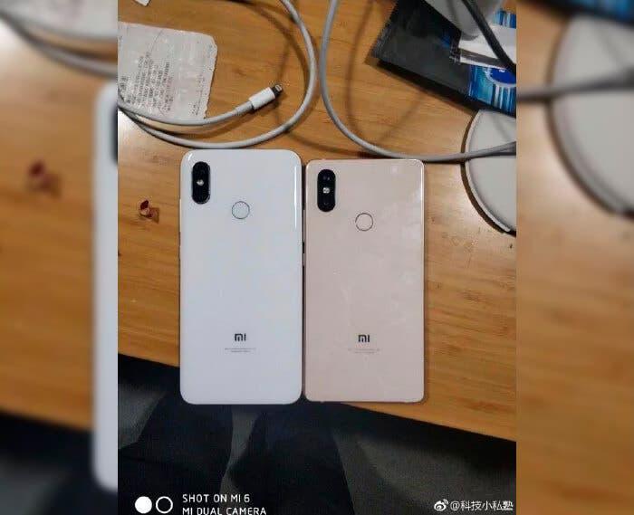 Parte trasera del Xiaomi Mi 7
