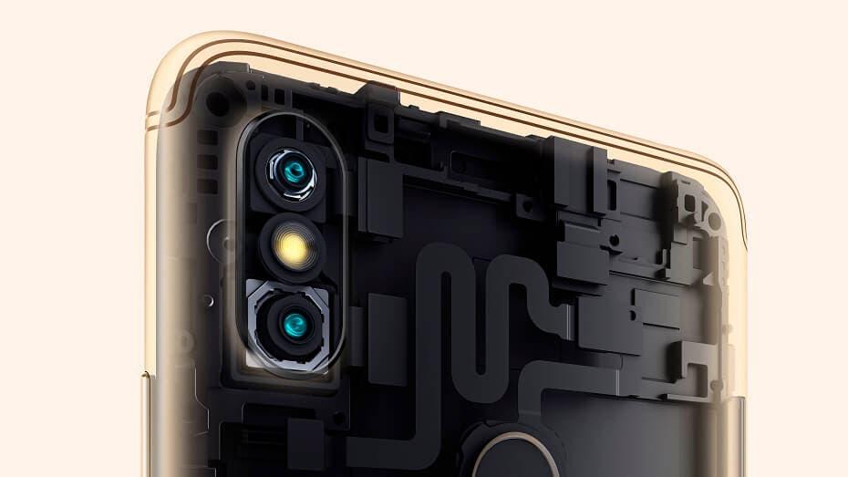 Cámaras del Xiaomi Redmi S2