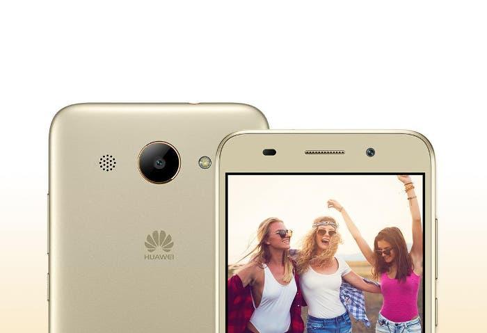 Huawei Y3 2018: el primer teléfono con Android Go de la compañía es oficial