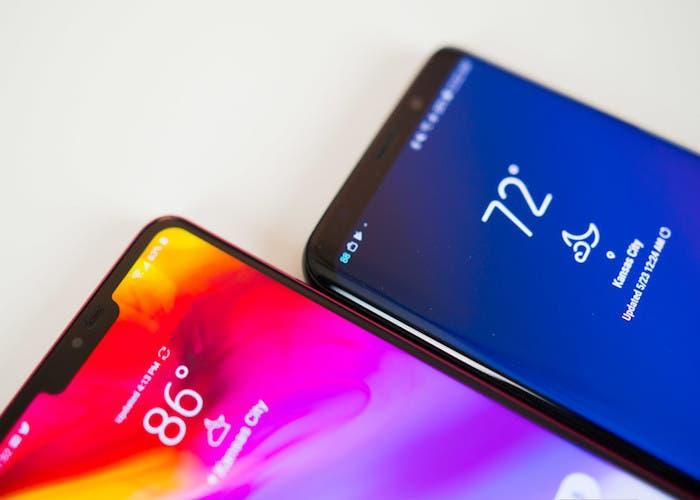 Los Samsung Galaxy S10 y el LG G8 vendrán sin Notch en la pantalla