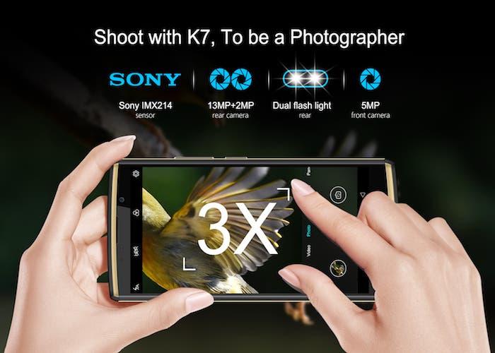 La cámara del Oukitel K7 se proclama como una de las mejores de la gama media
