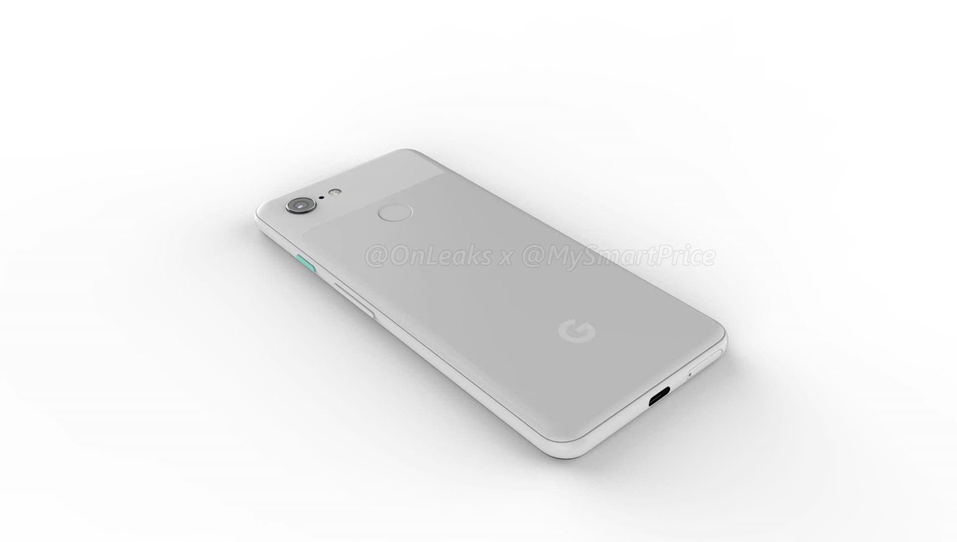 diseño del google pixel 3