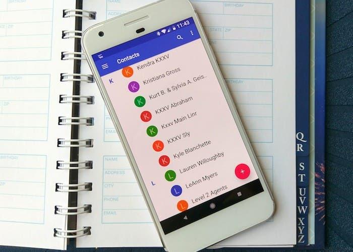 Cómo recuperar los contactos borrados en Android