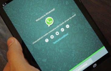 WhatsApp para tablets ya está disponible en Google Play