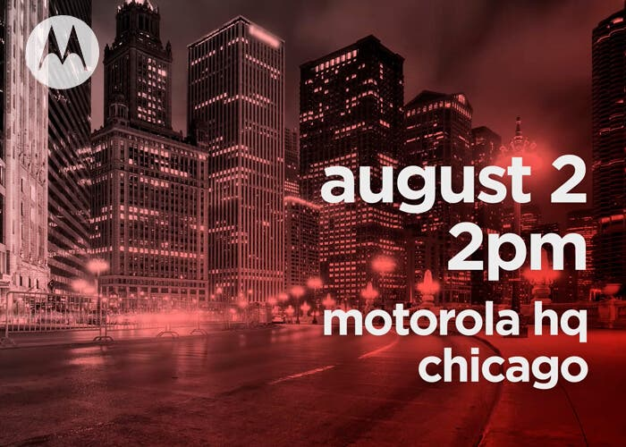 Motorola anunciará tres nuevos modelos a principios del mes de agosto