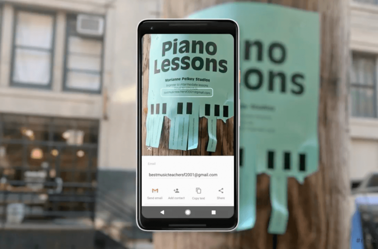 Google Lens ya está disponible en Google Play para los móviles Android