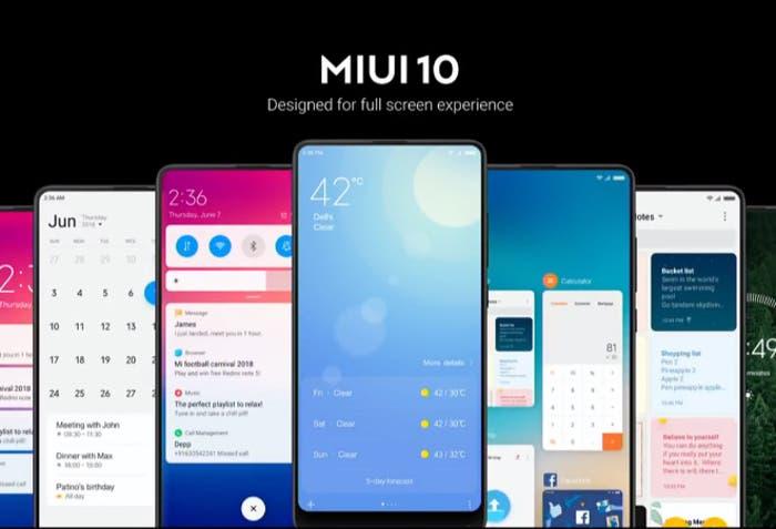 Cómo probar la nueva ROM Global de MIUI 10 en tu Xiaomi