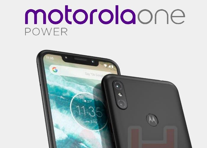 Nuevas imágenes del Motorola One Power confirman su diseño con notch