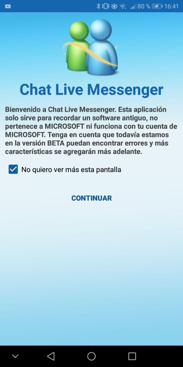 msn messenger android