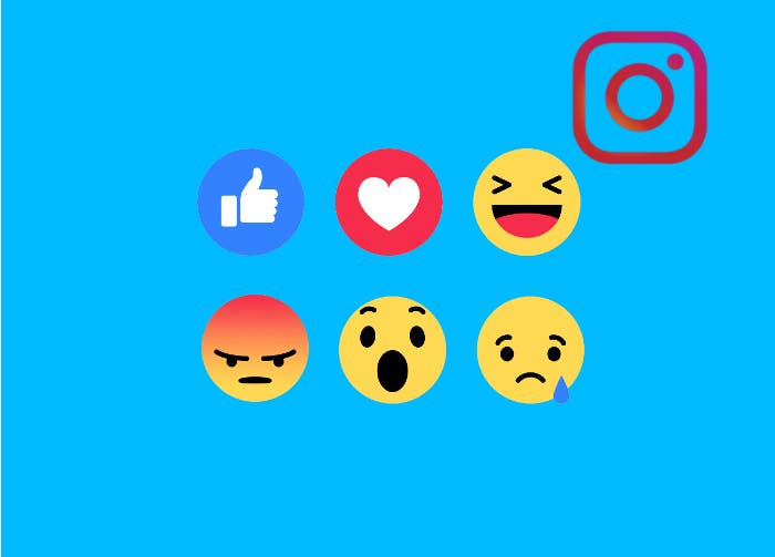 Las reacciones de Facebook llegarán a Instagram