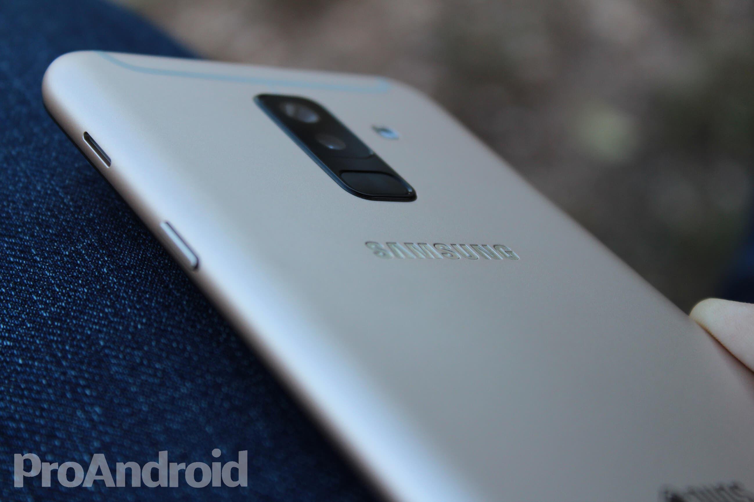 Altavoz del Samsung Galaxy A6+