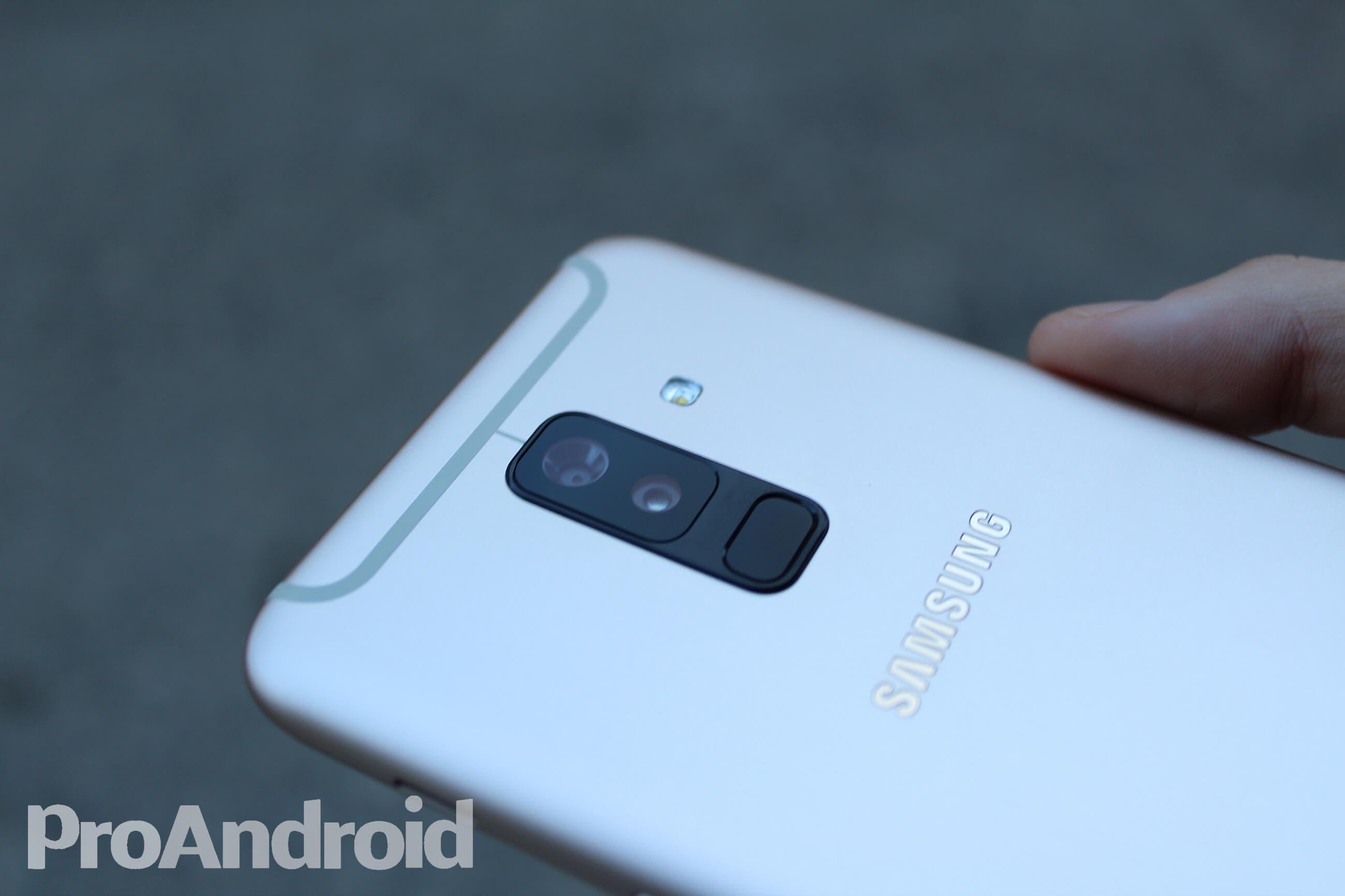Cámara del Samsung Galaxy A6+