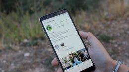 Instagram en el Samsung Galaxy A6+