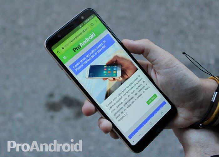 Samsung Galaxy A6+, analisis y experiencia de uso