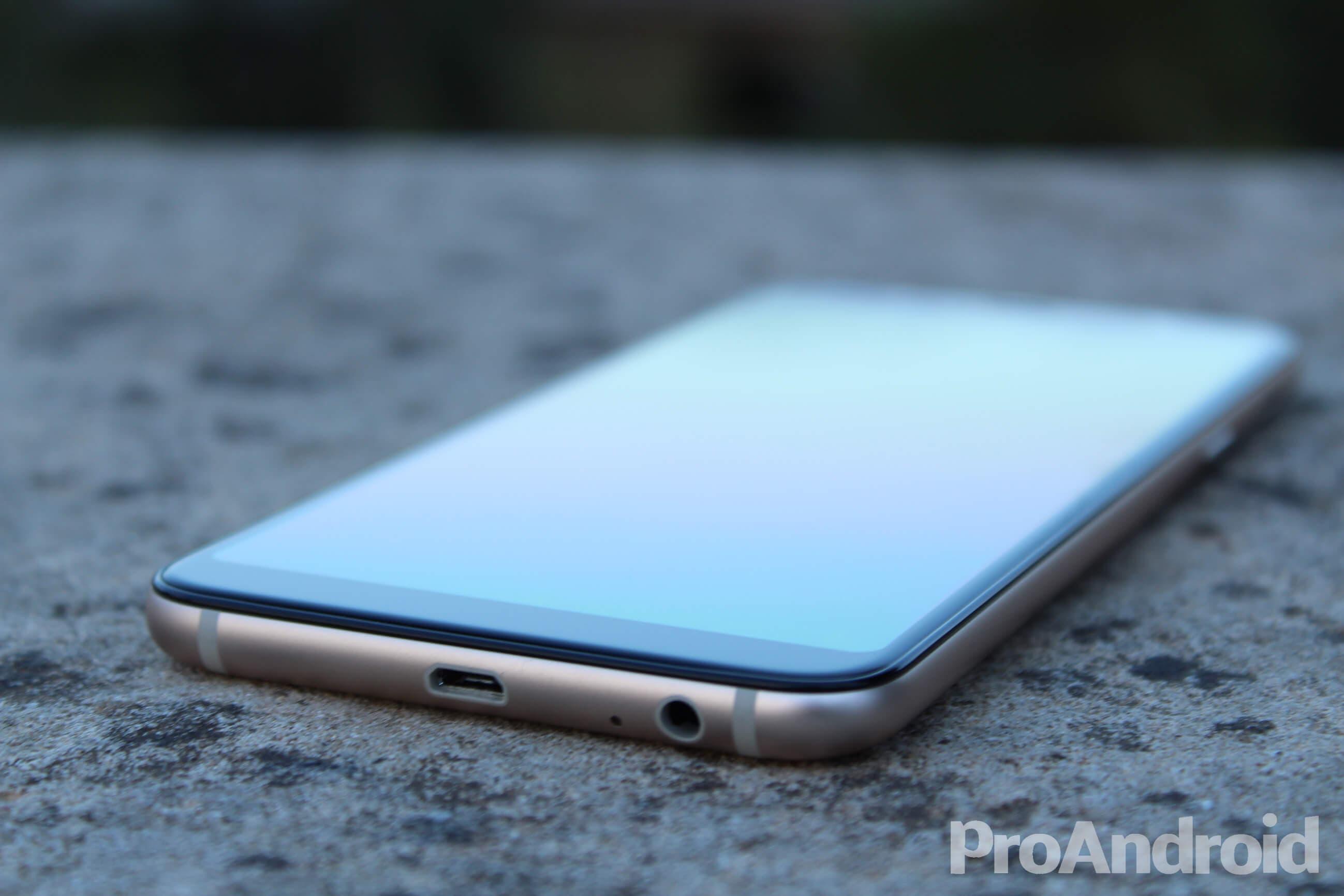 Puertos del Samsung Galaxy A6+