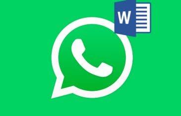 Cómo guardar una conversación de WhatsApp en un archivo Word