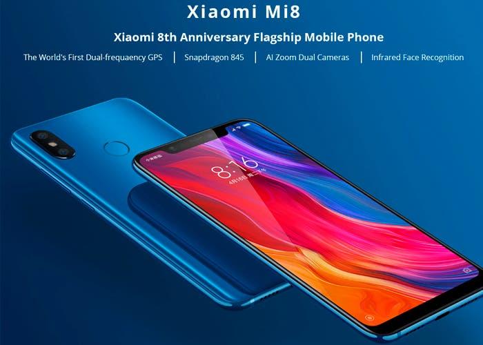 Ya puedes comprar el Xiaomi Mi 8 al precio más bajo hasta la fecha