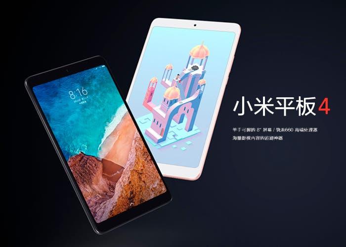 La Xiaomi Mi Pad 4 ya es oficial y es más barata de lo esperado