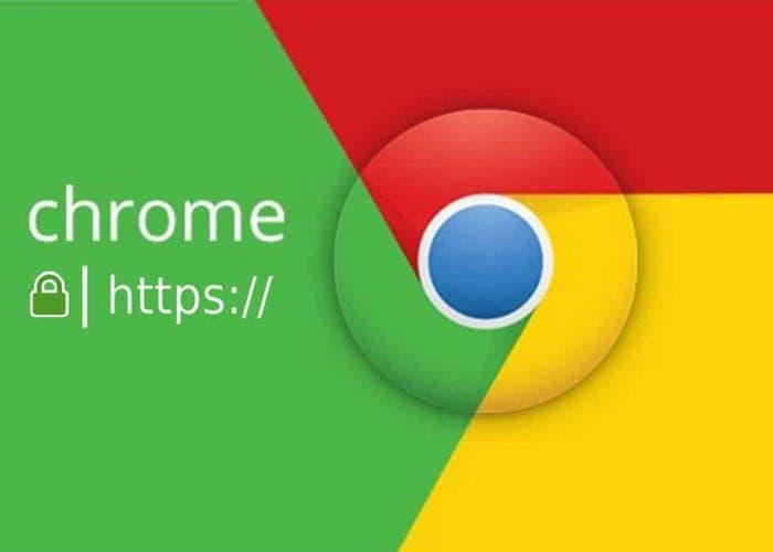 Google Chrome para Android marca los sitios webs HTTP como no seguros