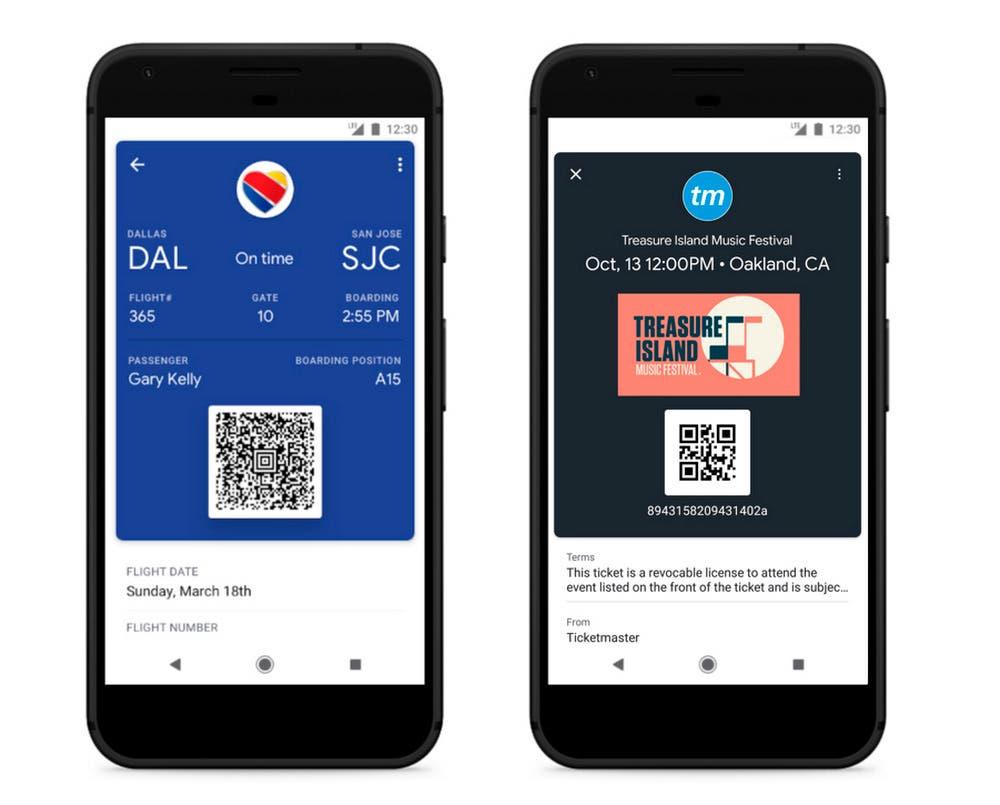 Google Pay en el smartphone