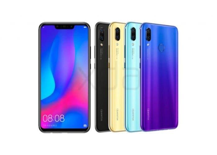 Nova 3: todas las filtraciones del nuevo móvil de Huawei