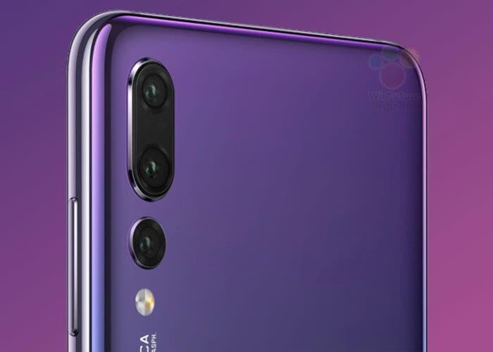 Triple cámara del Huawei P20 Pro
