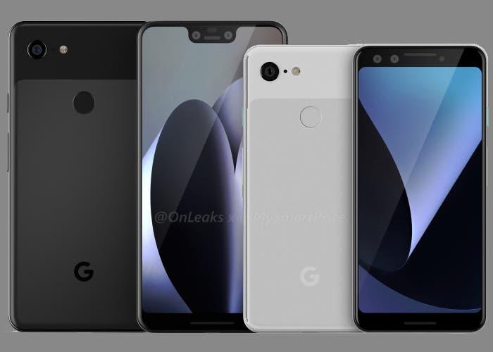 Novedades sobre el diseño del Google Pixel 3 XL gracias a una carcasa filtrada