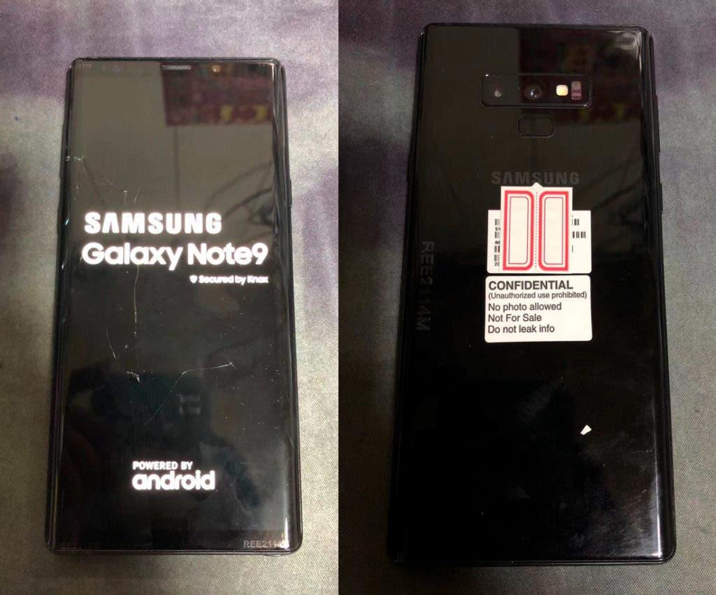 Samsung-Galaxy-Note9 filtración