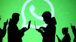 Usuarios utilizando Whatsapp