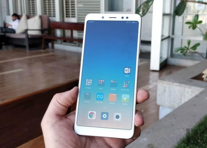 probando el Xiaomi Redmi Note 5