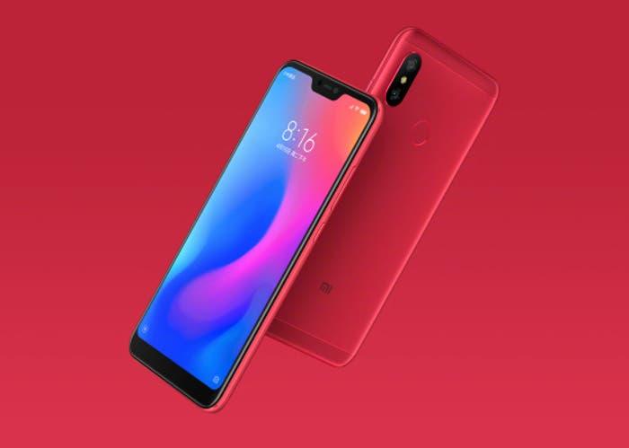 Xiaomi-redmi-6-pro-rojo