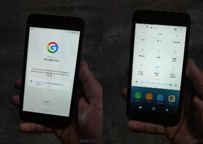¡Lanzamiento inminente! El Android Go de Samsung visita la FCC