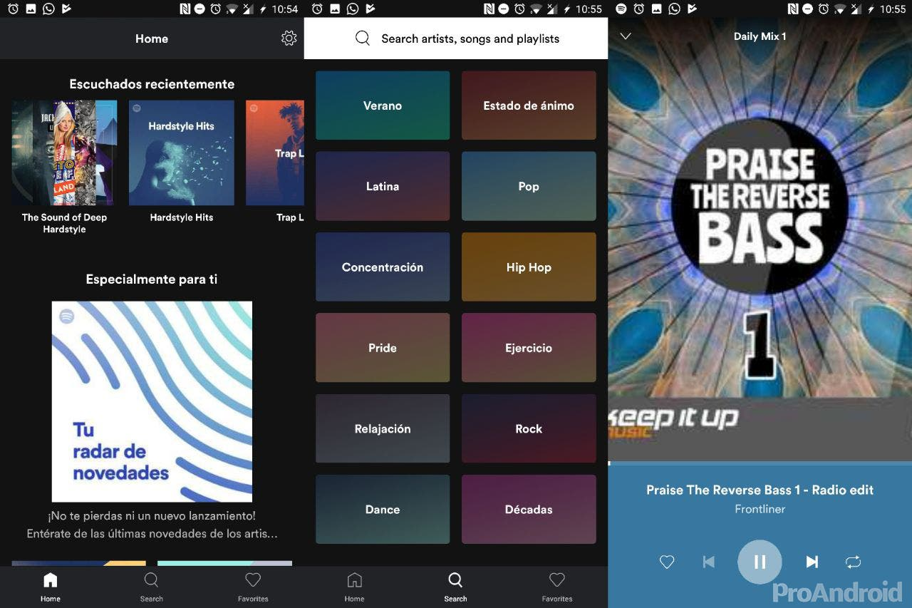 Spotify Lite; la versión ligera para usar menos datos y almacenamiento