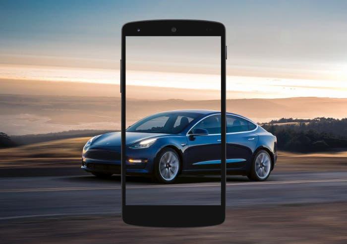 Filtrada la primera imagen del móvil de Tesla, se llamará Quadra