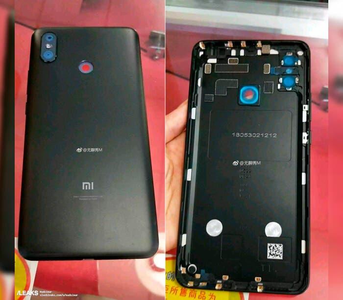 Trasera del Xiaomi Mi Max 3