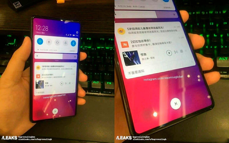 Imágenes reales del Xiaomi Mi MIX 3