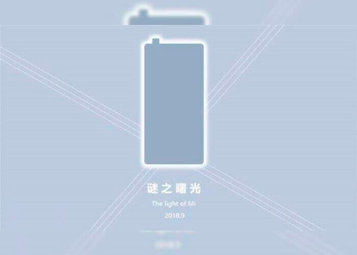 Una nueva imagen del Xiaomi Mi MIX 3 muestra su diseño sin marcos