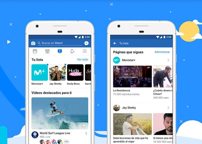 Facebook Watch se estrena en España, el YouTube de la red social