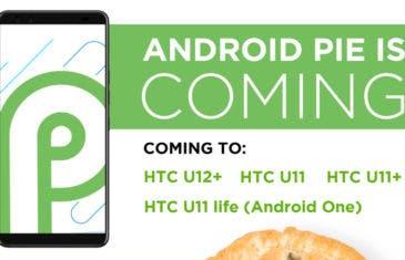 Android 9 Pie: ¿Qué móviles actualizará HTC?