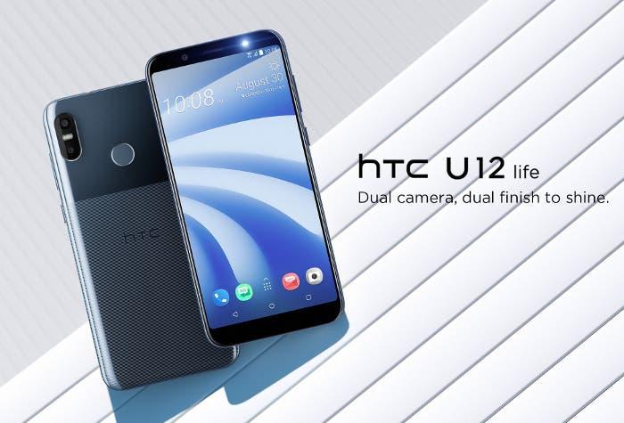 #IFA18: HTC U12 Life recuerda a dos populares teléfonos