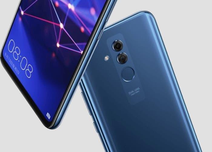 Características y diseño del Huawei Mate 20 Lite: una fuga oficial filtra todo
