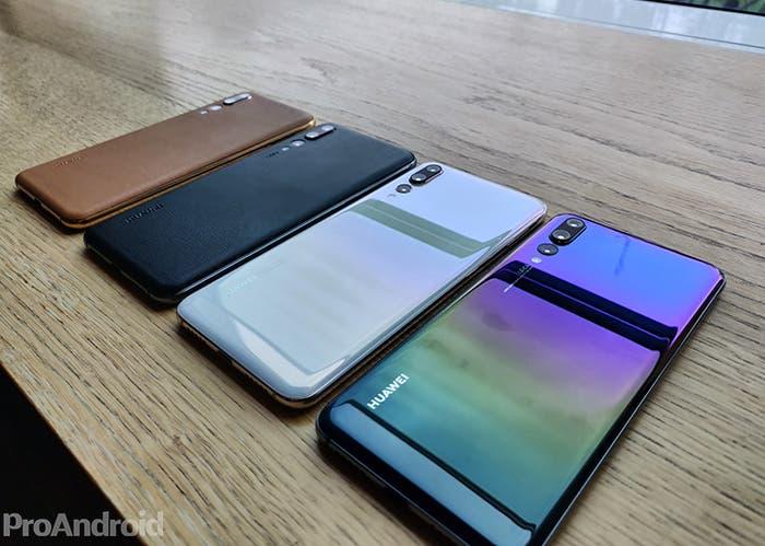 Nuevos Huawei P20 Pro: 2 nuevos colores y 2 acabados en piel