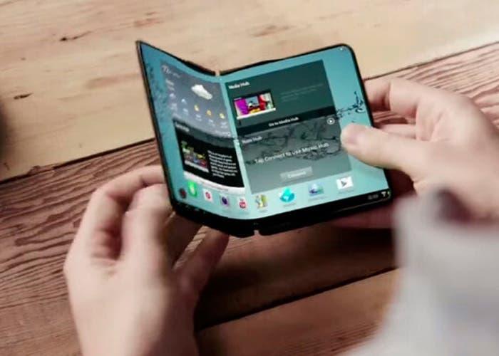El móvil plegable de Samsung podría llegar junto con el Galaxy S10